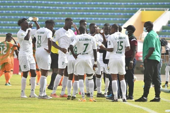 Coupe CAF : Le Jaraaf domine le FC Salitas et prend la tête du groupe C.