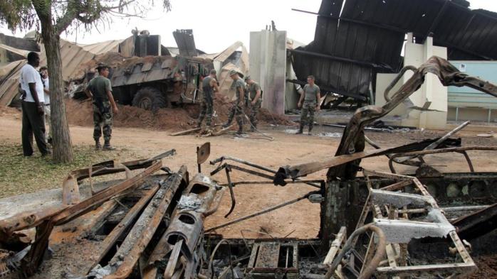 Côte d'ivoire / Les ministres français gardent le flou et trois ivoiriens condamnés à la perpétuité par contumace pour le bombardement de Bouaké en 2004.