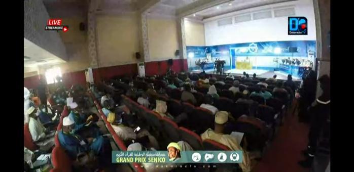 Grand Prix Senico de récital de Coran : La grande mosquée de Dakar a accueilli ce matin cinq candidats.