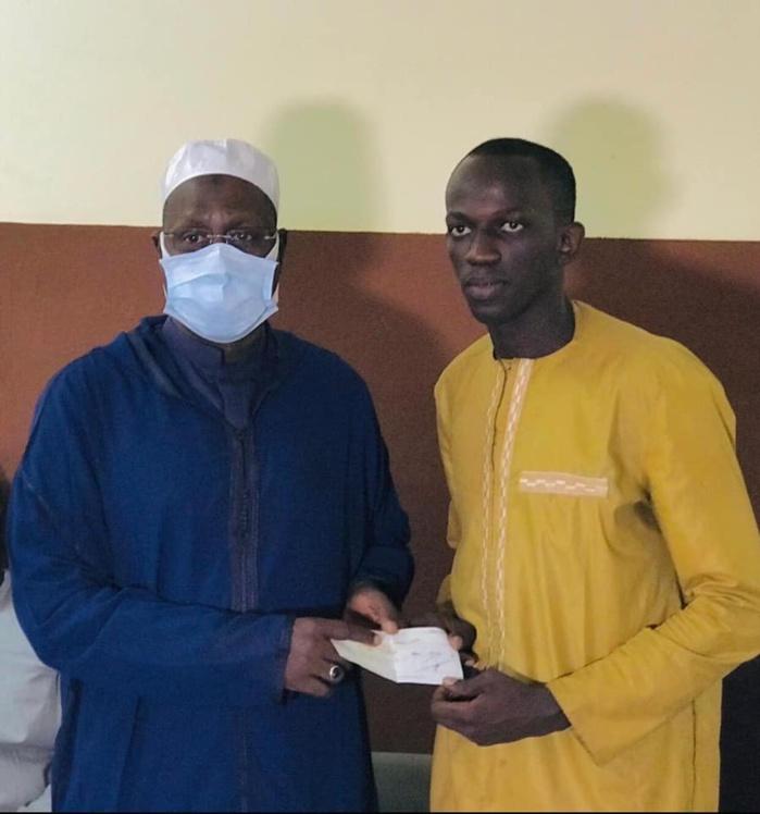Ramadan : Le responsable APR/Mbao, AKS, offre un million de francs aux étudiants de la commune