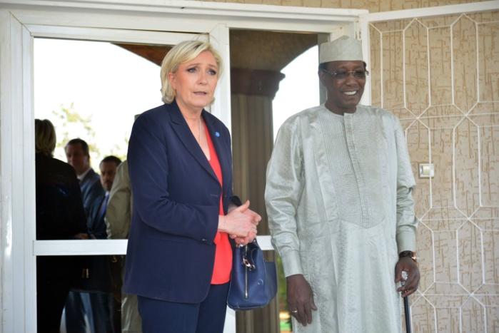 Marine Le Pen : « Idriss Déby Itno fut  un allié qui n'a jamais fait défaut dans la lutte contre le terrorisme islamiste. La France a perdu un allié! »
