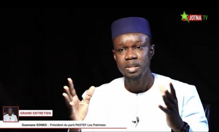 Ousmane Sonko sans réserve : «Ni Macky Sall ni ses soi-disant fidèles compagnons ne pourront m'empêcher d'être candidat en 2024. Je ne suis pas n'importe qui dans le champ politique...»