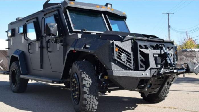 Riposte anti-émeute : la police nationale va être équipée de nouveaux véhicules blindés TAG