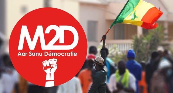 Sortie du président sur les émeutes : Le M2D manifeste ses regrets et invite le chef de l'État à s'éviter de nouvelles déconvenues.
