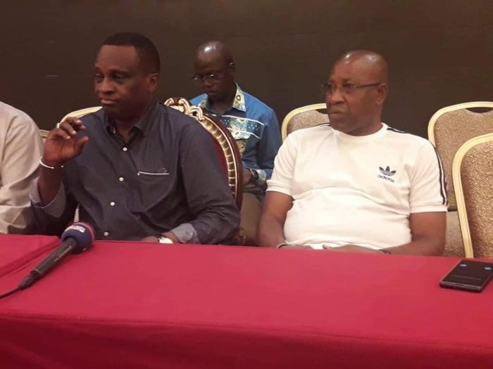 """Présidence Feguifoot : Mamadou Antonio Souaré retire sa candidature et Aboubacar Touré """"Boubatri"""" reste seul en lice."""