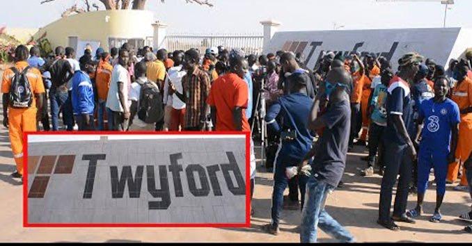 Affaire Twyford : Les 25 travailleurs dont 5 délégués placés sous mandat dépôt...