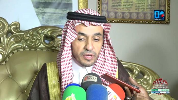 TOUBA - L'émissaire du Serviteur des 02 Saintes mosquées d'Arabie Saoudite reçu par Serigne Mountakha Mbacké.