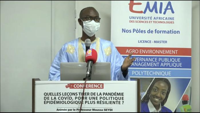 Pr Moussa Seydi : «La Covid-19 est bien à prendre au sérieux. Elle a tué 5 fois plus que le paludisme et deux fois plus que la tuberculose...»