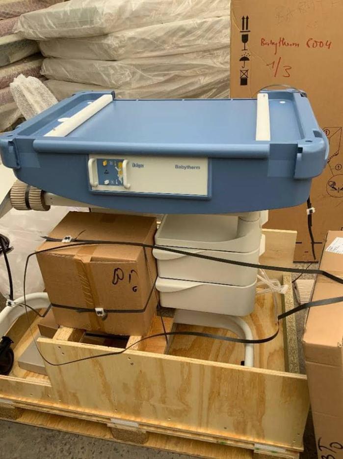 Après l'incendie à Linguère, le service de néonatologie refait peau neuve.