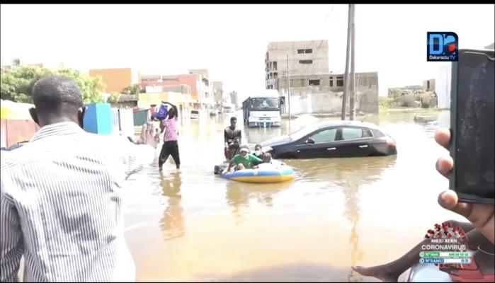 Risques d'inondation au Sénégal 2021 : des quantités pluviométriques globalement équivalentes ou inférieures aux moyennes prévues (CILSS)