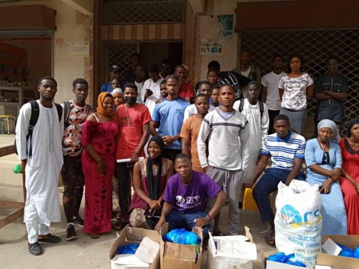 Appui Ramadan 2021 : Ousmane Sylla au chevet des étudiants de Kédougou basés à Dakar.