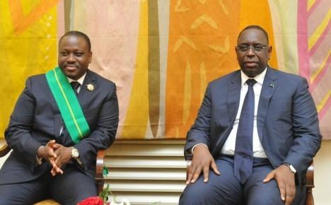 Guillaume Soro à la Dignité de Grand Croix dans l'Ordre National du Mérite sénégalais