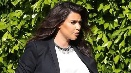 Kim Kardashian est maman