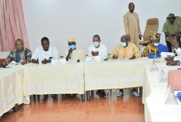 Infrastructures et emplois : La coalition BBY de Kaffrine salue les projets déployés par l'État dans le département.