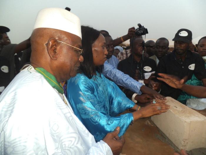 Pose 1ere pierre cité Yoro Basse : 250 logements à Kounoune pour les sénégalais expatriés d'Afrique