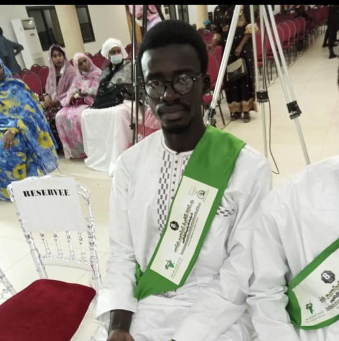 8ème édition du prix international Cheikh Ibrahima Niass : Ahmed Souleymane Thiam remporte le premier prix de récital du Saint Coran.