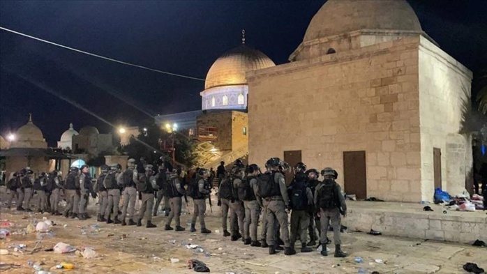 Violences à la mosquée Al-Aqsa : le comité pour les droits du peuple Palestiniens dénonce l'assaut et révèle l'appel du SG de l'Onu aux israéliens.