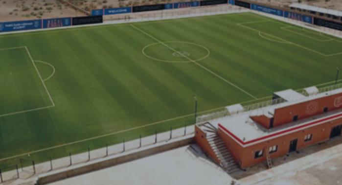 Football : Le PSG va installer sa première Académie au Complexe sportif Bruno Metsu à Saly.
