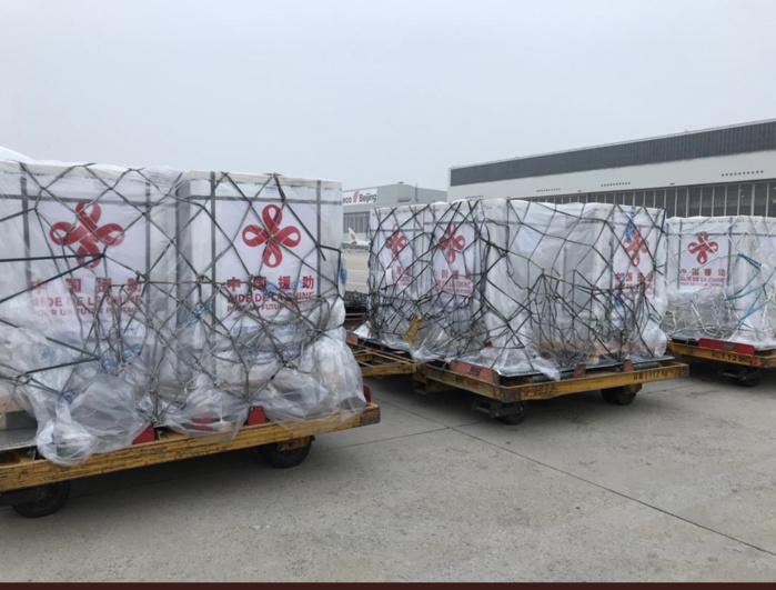 300.000 doses de vaccins Sinopharm offertes par la Chine : L'avion d'Air Sénégal a quitté Beijing ce matin pour Dakar.