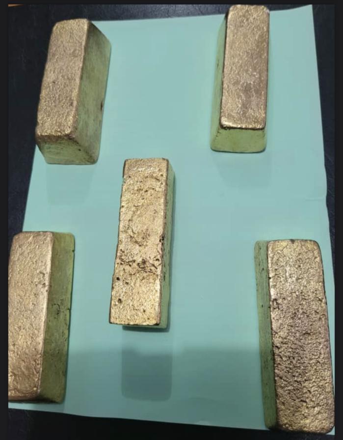 Trafic : La Douane saisit des lingots d'or à Karang dans le département de Foundiougne.