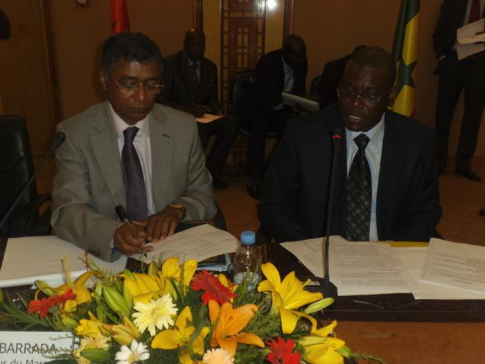Diplomatie : Ouverture à Dakar de la 14e Session Mixte de la Grande Commission Mixte de Coopération entre  le Maroc et  le Sénégal