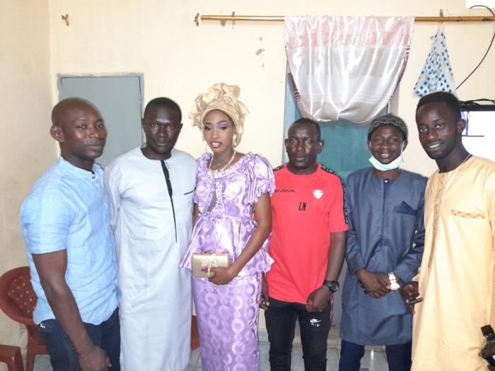 Thiès : Notre confrère Birahim Diaw baptise sa fille (images).
