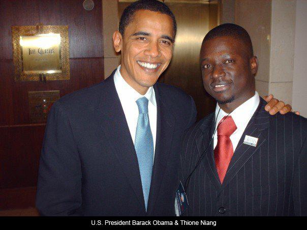 Thione Niang à Barak Obama Lettre du 18 juin 2013