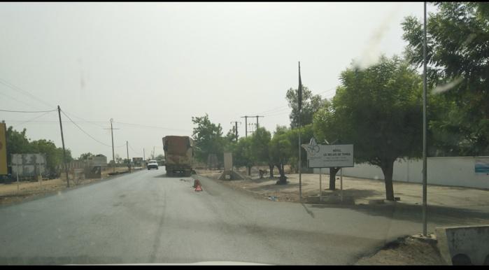 Tamba / Alerte : Un camion bloqué sur la RN1 depuis plus d'un mois cause des risques d'insécurité.