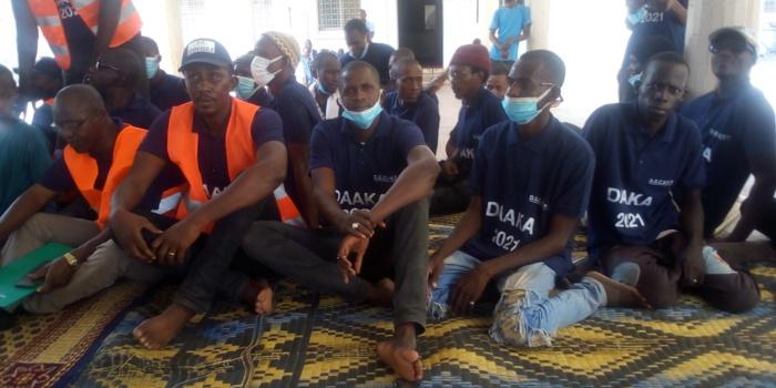 Préparatifs du Daaka : Les ministres Abdoul Karim Sall (environnement) et Abdoulaye Sow (urbanisme) à la cité religieuse de Médina Gounass.