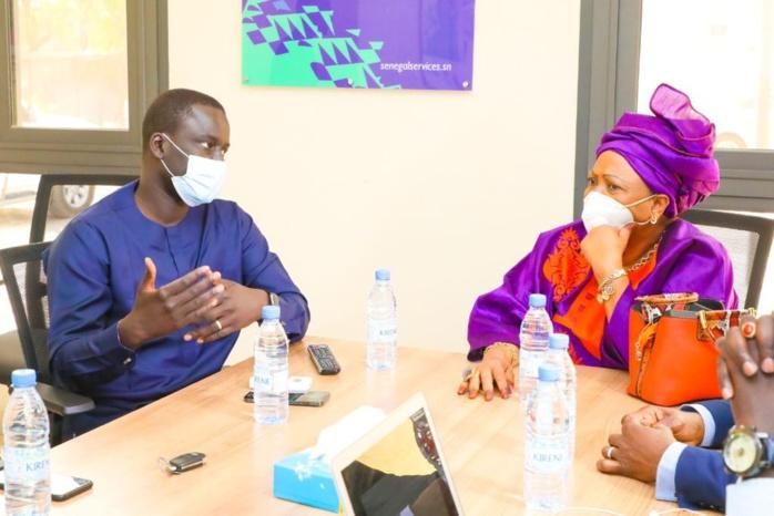 ESS Dakar : La maire de Dakar Soham Wardini et le Directeur général de l'ADIE s'entendent sur des pistes de collaboration entre les deux entités