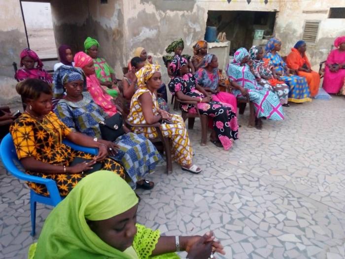Kaolack : Adji Mergane Kanouté octroie des financements aux plate-formes décentralisées des Linguère.