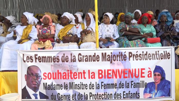 Tournée économique à Kaolack : les responsables de APR se sont mobilisés derrière Ndèye Saly Diop Dieng.
