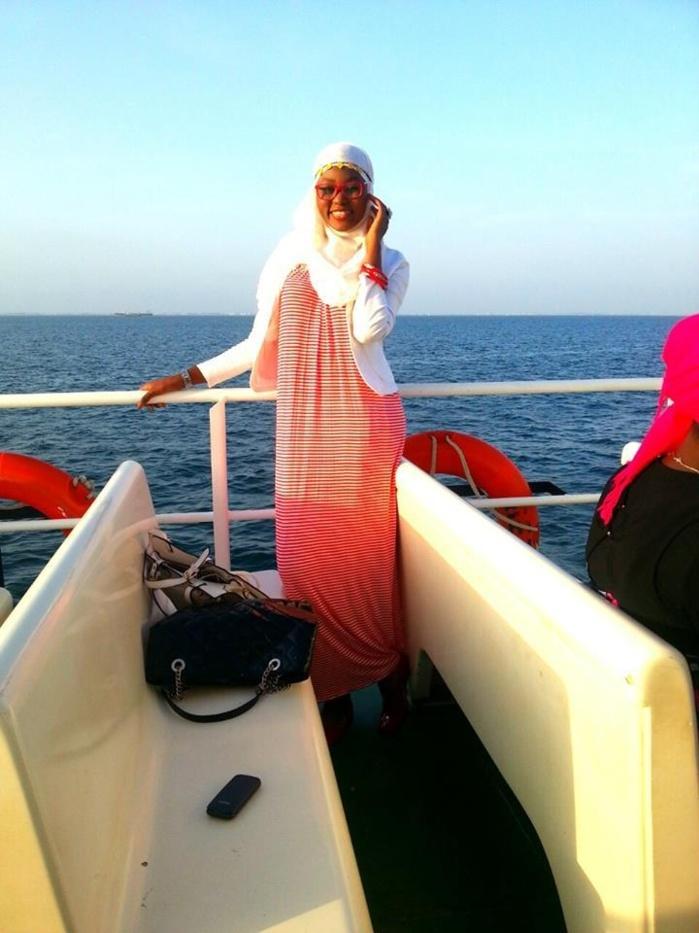 Sira Sissokho en mode chaloupe