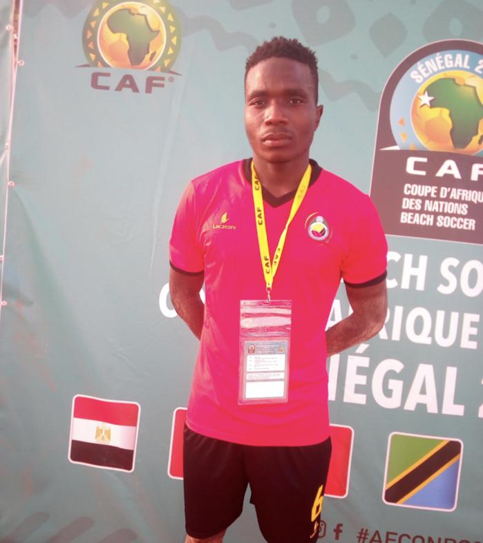 CAN Beach Soccer : Manuel Nelson meilleur buteur du tournoi avec deux quadruplés inscrits en deux matches.