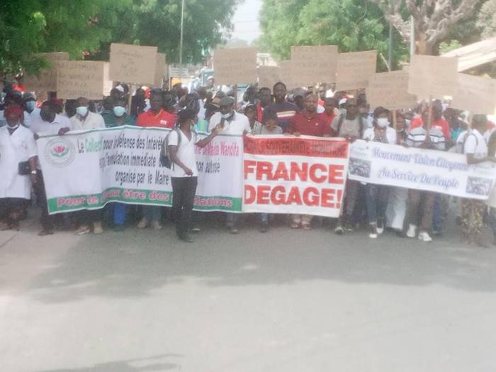 Ziguinchor / DOYNA marche pour dénoncer les maux de l'hôpital régional et les litiges fonciers.