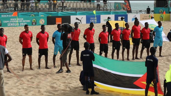CAN Beach Soccer 2021 : Le Mozambique vient à bout du Maroc (2-1) et signe un 3/3.