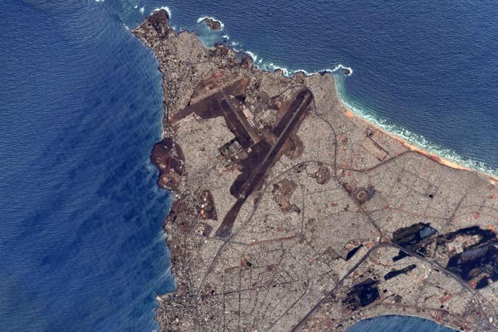 Dakar vue de l'espace par le spationaute Thomas Pesquet : une magnifique représentation de la Capitale « menacée » par les changements climatiques