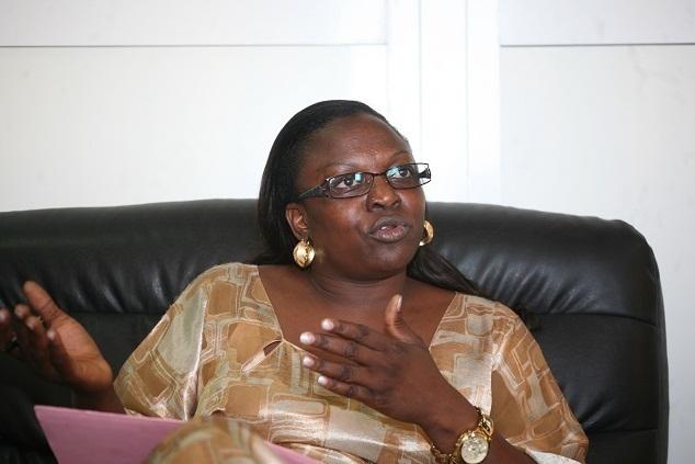 Seynabou Ndièguène, candidate pour la mairie de Thiès