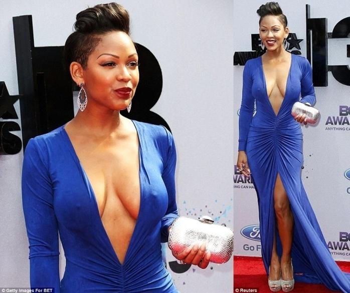 Meagan Good répond aux critiques sur sa robe des BET Awards
