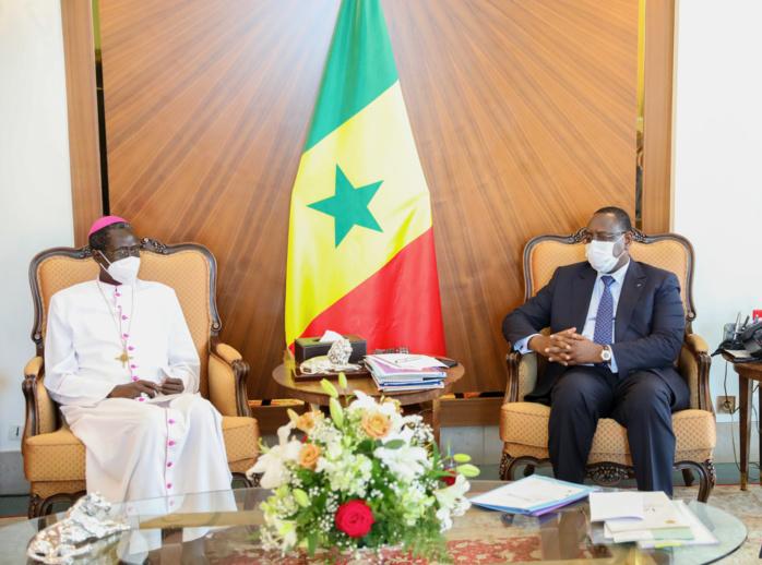 Audience au Palais : l'archevêque de Dakar prêt à soutenir la promotion de l'agriculture auprès de la jeunesse.