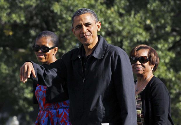 Barack Obama : Le président américain s'appuie beaucoup sur sa belle-mère