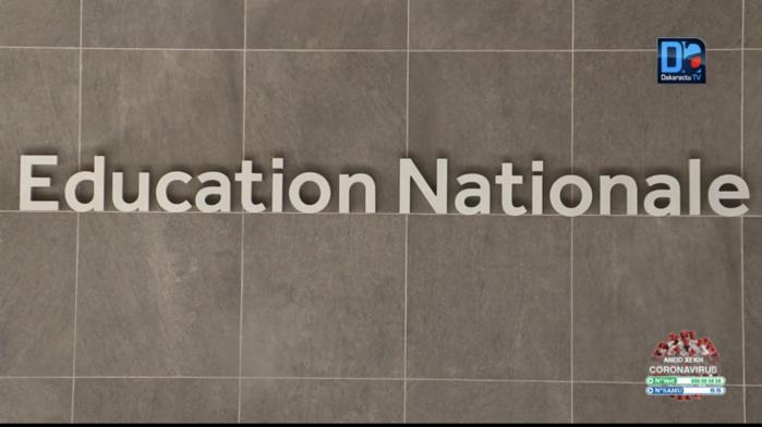 Polémique autour de l'épreuve d'Anglais du  Bac blanc de Rufisque : La note de précision du ministère de l'éducation nationale.