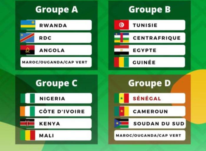 Afrobasket Kigali 2021 : Les Lions dans le groupe D en compagnie du Cameroun, du Sud Soudan...