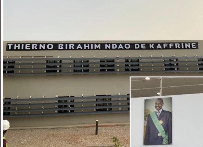 Kaffrine : Qui est Thierno Birahim Ndao, parrain du Centre hospitalier régional du « Ndoucoumane »