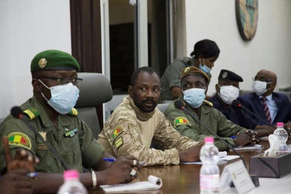 Sommet extraordinaire de la CEDEAO sur la situation au Mali : Le Colonel Assimi Goita présent à Accra.