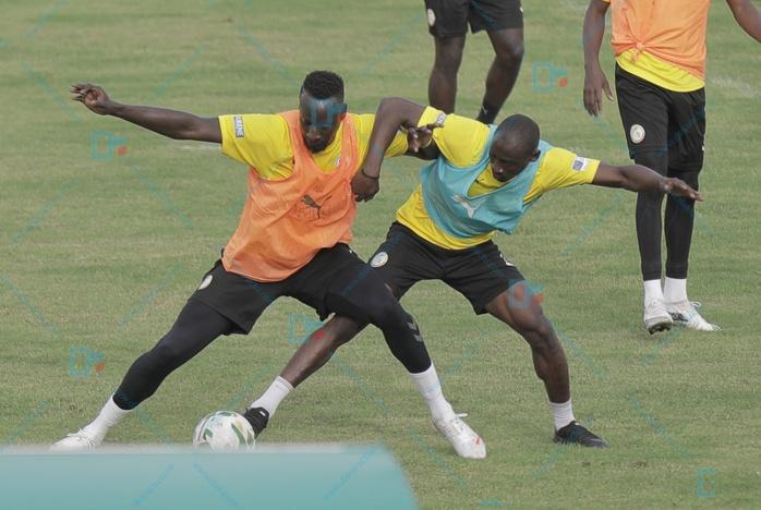 Les images du premier galop d'entraînement des Lions à Thiès (préparation matchs amicaux Sénégal Zambie et Cap-Vert)