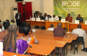 1er Forum IPODE sur la réforme des institutions au Sénégal