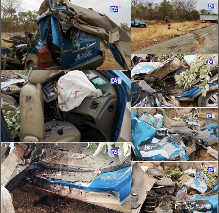 Accident de nos confrères de Leral..net :  Le jour, le plus glaçant (Cheikh Bamba DIAGNE, journaliste à Dakaractu)