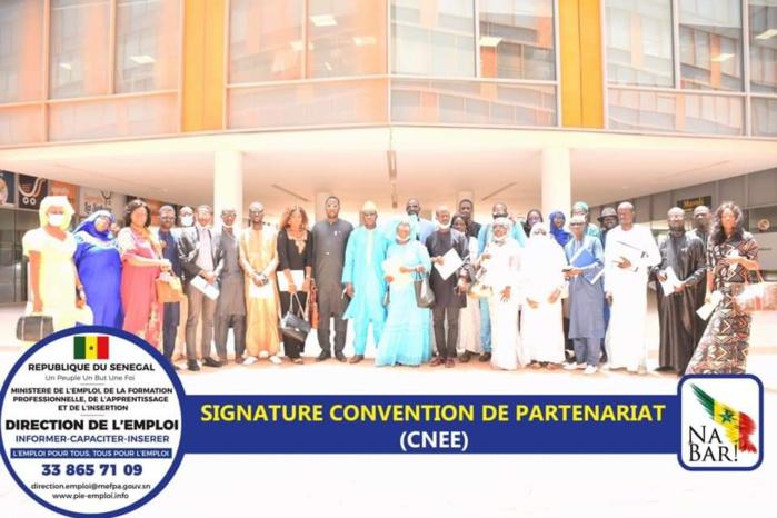 DIRECTION DE L'EMPLOI / Mr Modou Fall procède à la signature d'une trentaine de conventions de partenariat et compte toucher les régions du Sénégal.