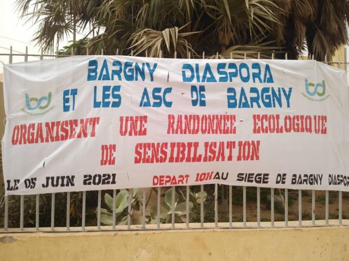 Journée de l'environnement : « Les problèmes environnementaux de Bargny doivent être résolus par les Bargnois » (Amady Guèye, Coord. Bargny Diaspora).